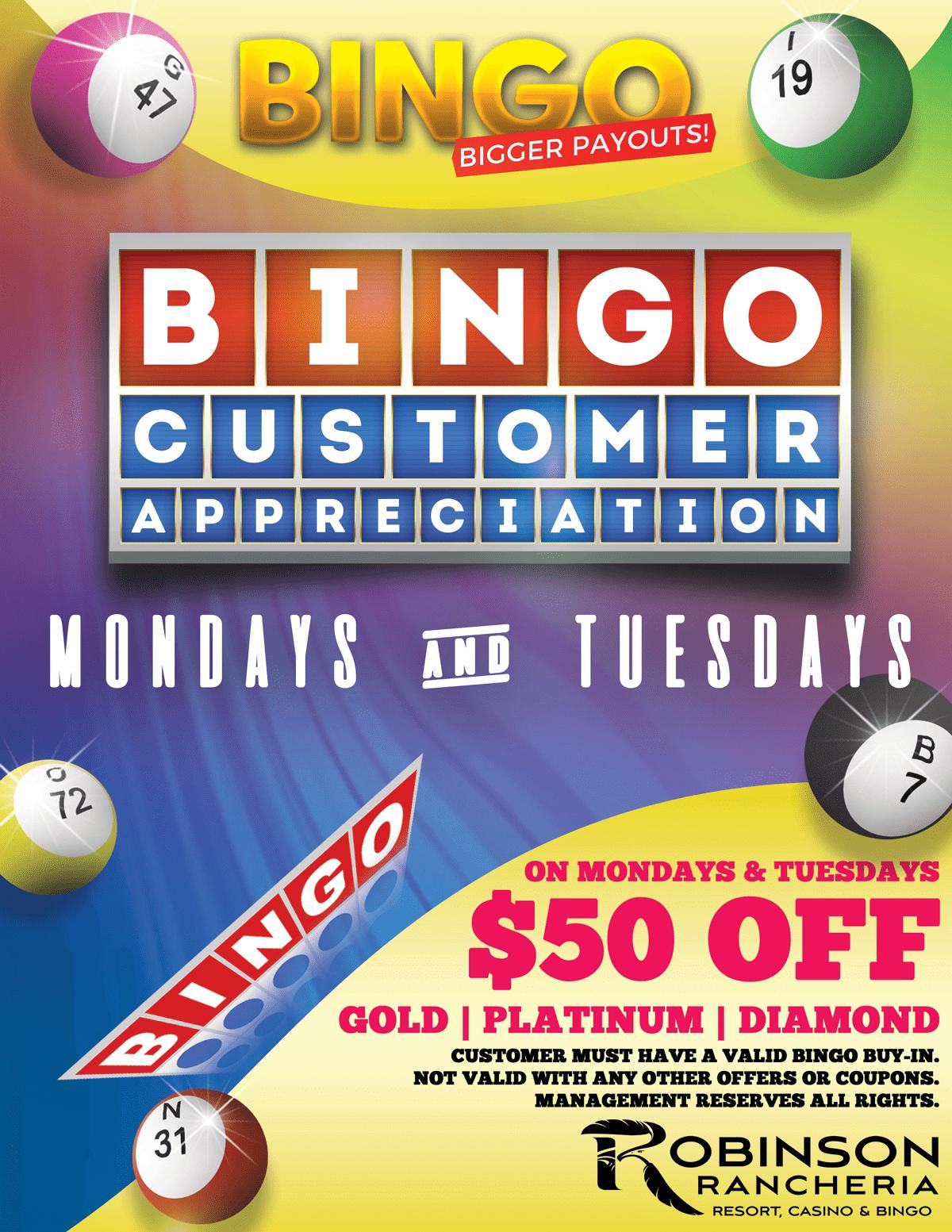 bingo customer-appreciation-day