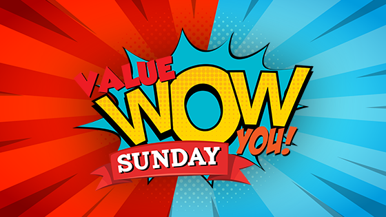 value wow you sunday robinson rancheria casino
