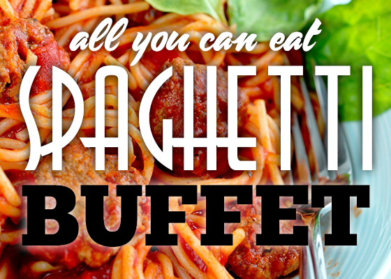 spaghetti buffet at robinson rancheria