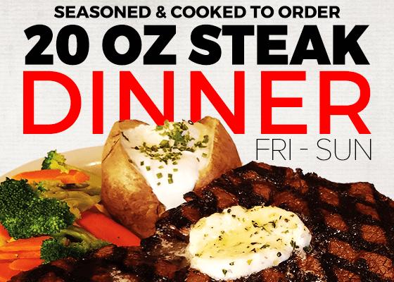 steak-dinner at Robinson rancheria