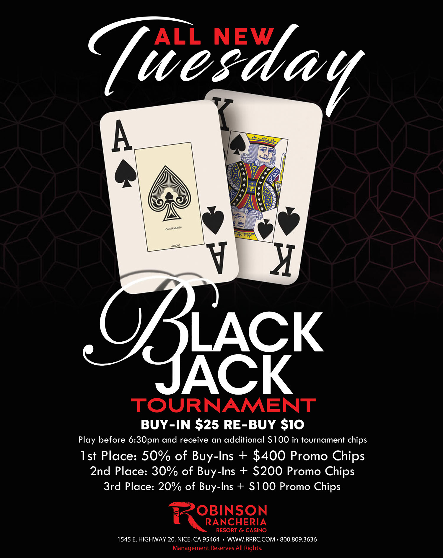 Tuesday Night Blackjack