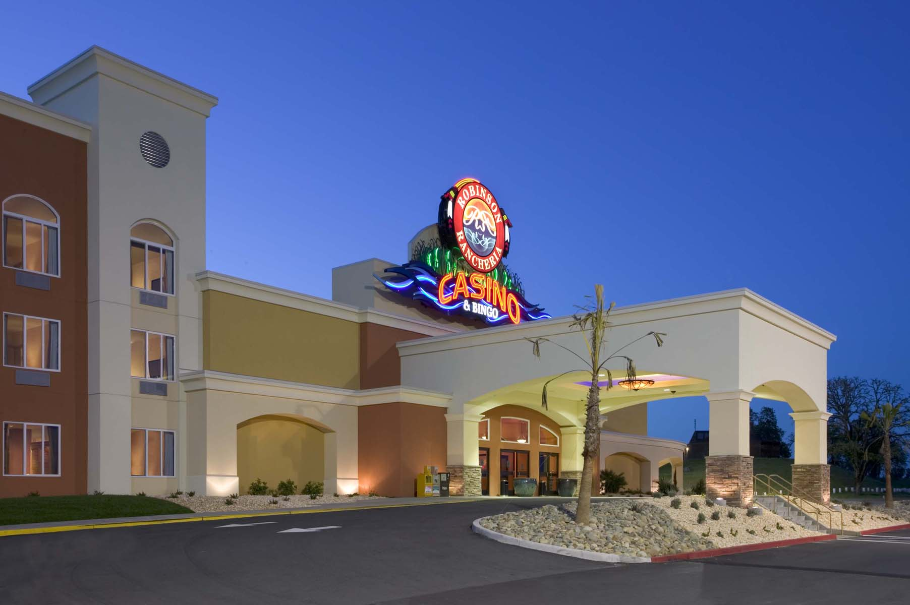 robinson rancheria hotel and casino
