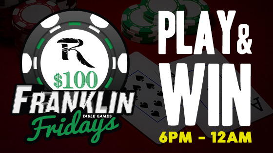 franklin-fridays-table games