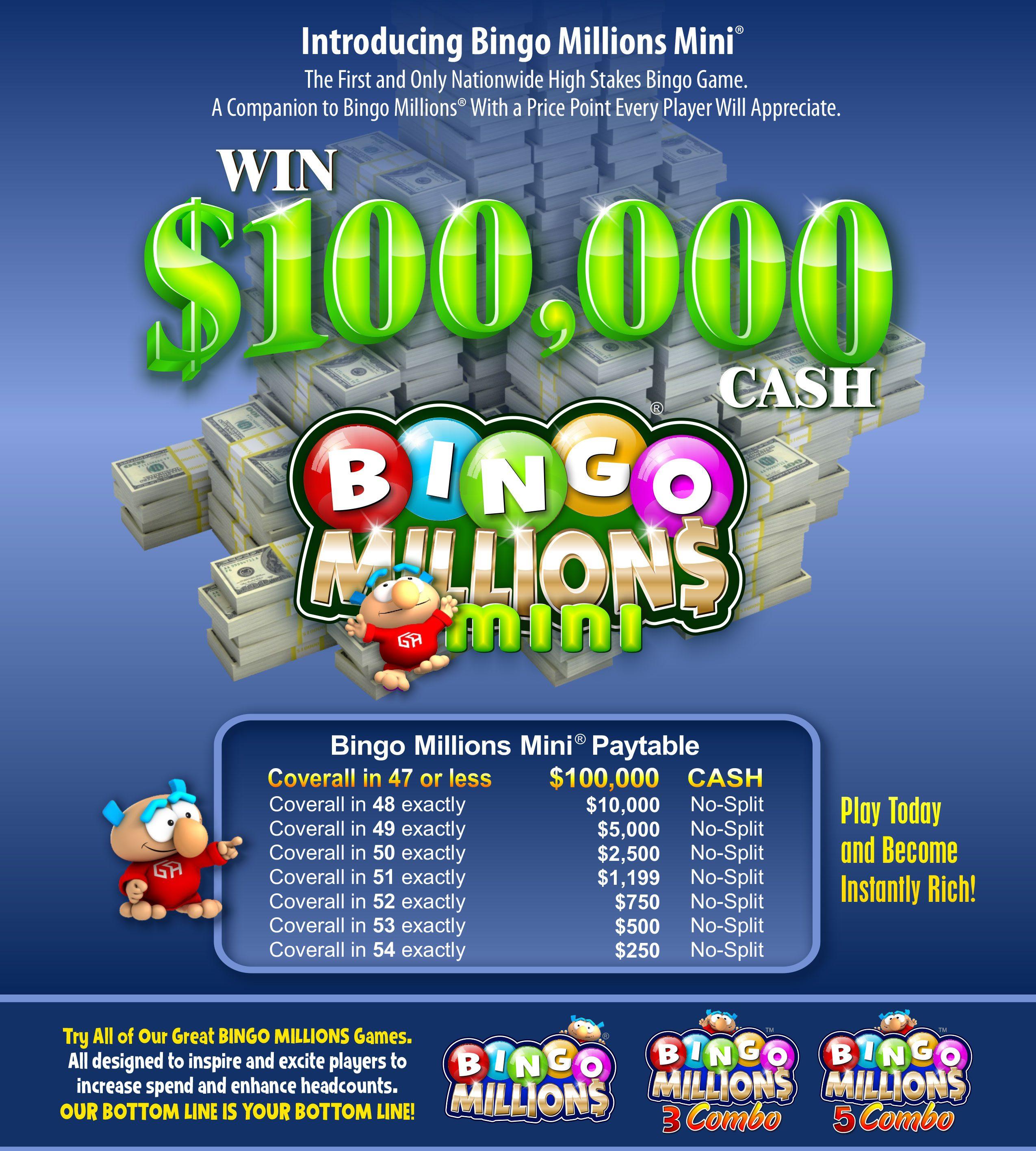 bingo-millions mini robinson rancheria casino bingo