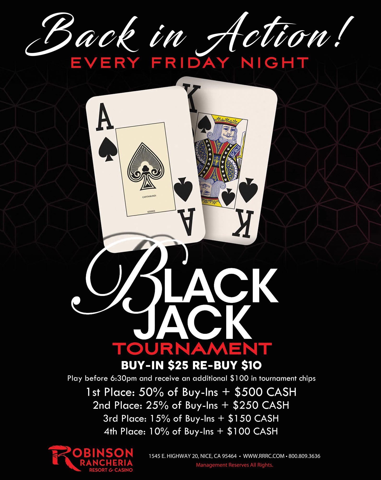 Tuesday Blackjack